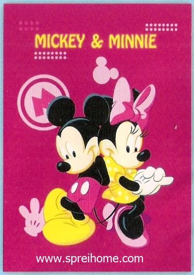 toko selimut murah Rosanna Mickey Minnie