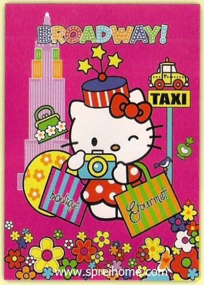 toko selimut murah Rosanna Hello Kitty