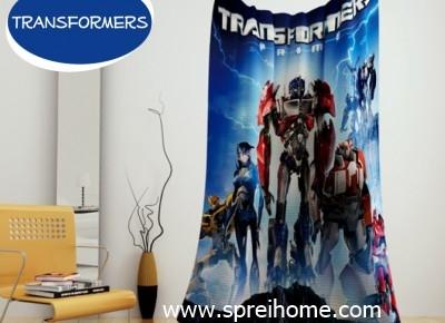 jual grosir murah Selimut kintakun Transformers