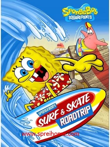 jual selimut murah Rosanna Sutra spongebob