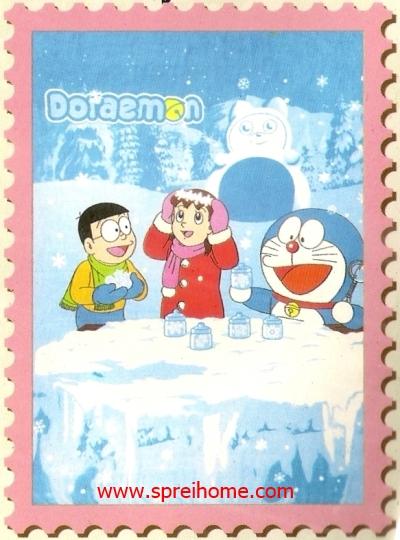 jual grosir murah Selimut Internal Doraemon