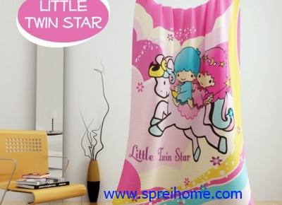jual grosir murah Selimut kintakun little-twin-star1