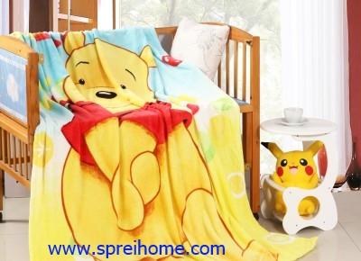jual grosir murah Selimut kintakun Honey-Pooh