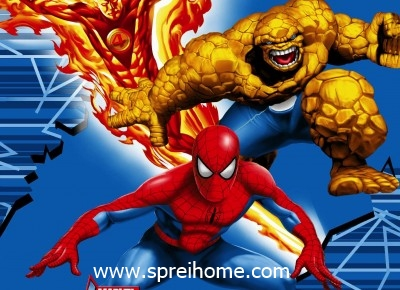 jual grosir murah Selimut kintakun Marvel-Super-Hero1