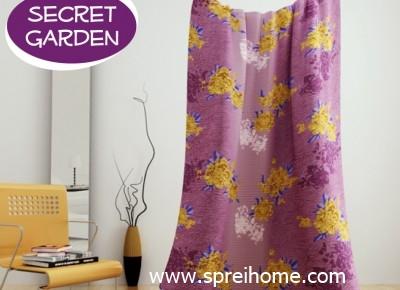 jual grosir murah Selimut kintakun secret-garden