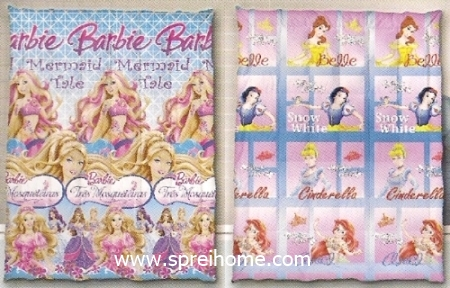 toko grosir murah Selimut Ananda A Barbie - Cinderella