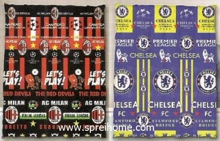 toko grosir murah Selimut Ananda D Milan - Chelsea