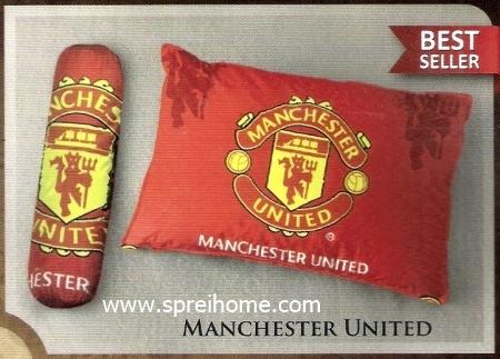 jual bantal selimut Balmut Ilona Manchester United
