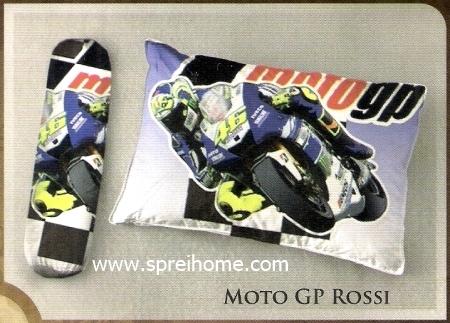 selimut bantal murah Balmut Ilona Moto GP Rossi