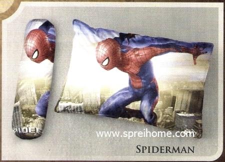 bantal selimut murah Balmut Ilona Spiderman