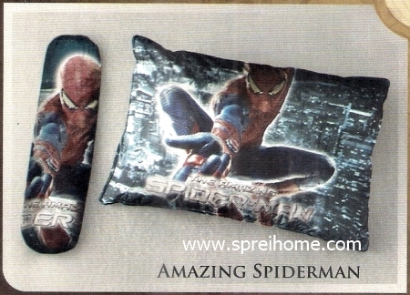 bantal selimut murah Balmut Ilona Amazing Spiderman
