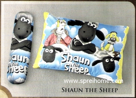 bantal selimut murah Balmut Ilona Shaun The Sheep