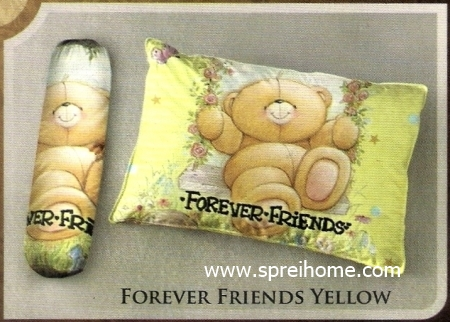 bantal selimut murah Balmut Ilona Forever Friends Yellow