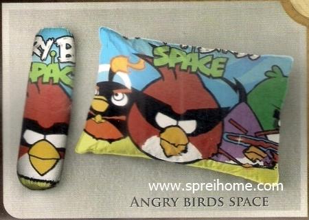 bantal selimut murah Balmut Ilona Angry Birds Space
