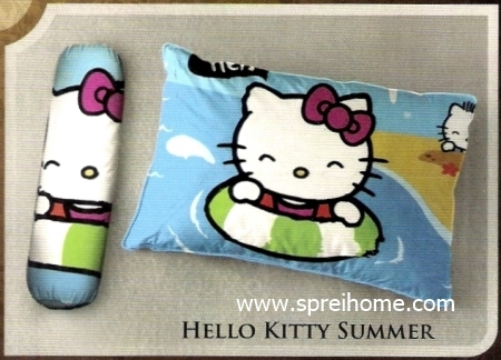 bantal selimut murah Balmut Ilona Hello Kitty Summer