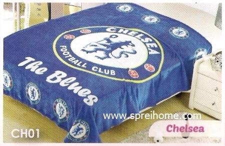 toko grosir murah Selimut Blossom CH01 Chelsea