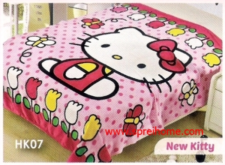 grosir murah Selimut Blossom HK07 New Kitty