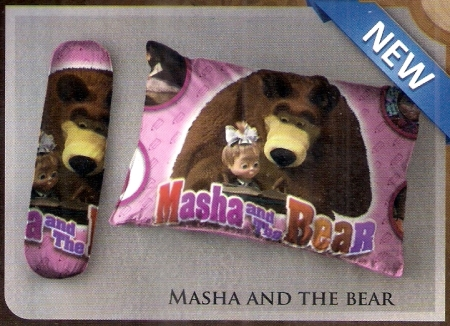 bantal selimut murah Balmut Ilona Masha and the bear