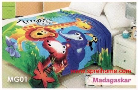 grosir murah Selimut Blossom MG01 Madagaskar