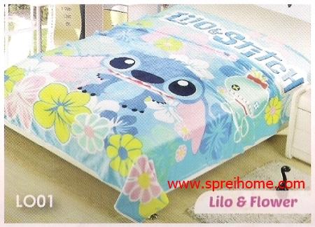 grosir murah Selimut Blossom LO01 Lilo n Flower
