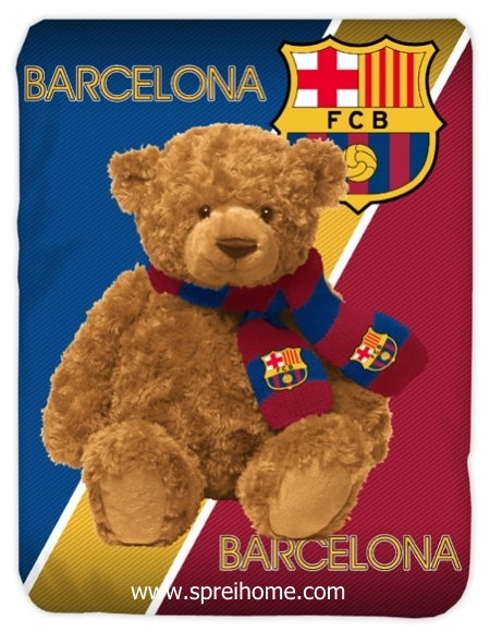 toko grosir Selimut Kendra Barcelona BEAR