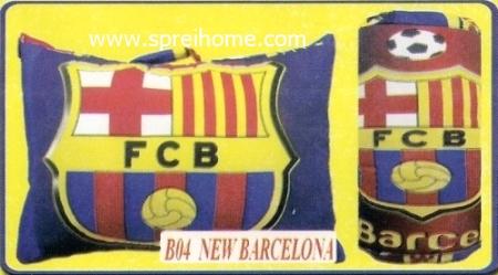 grosir murah bantal selimut Balmut Chelsea B04 Barcelona