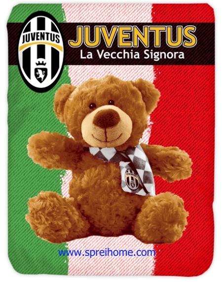 toko grosir Selimut Kendra Juventus-Bear