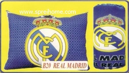 grosir murah bantal selimut Balmut Chelsea B20 Real Madrid