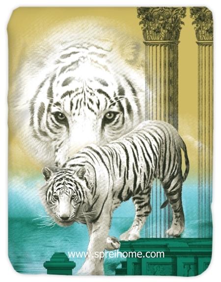 jual murah Selimut Kendra White-Tiger-Web