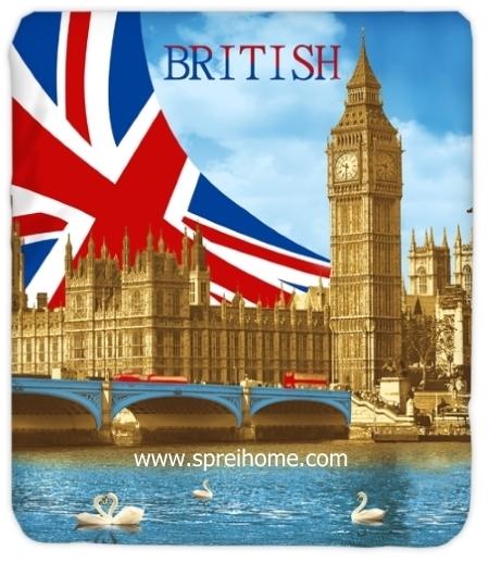 jual grosir Selimut Kendra London Bridge