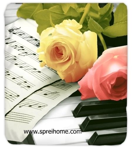 jual grosir Selimut Kendra Piano-Rose