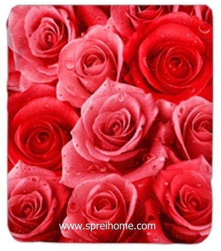 jual grosir Selimut Kendra Roses