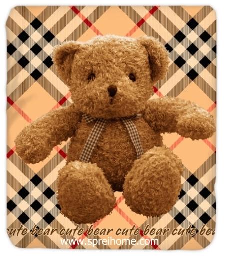 jual grosir  Selimut Kendra Cute-Bear