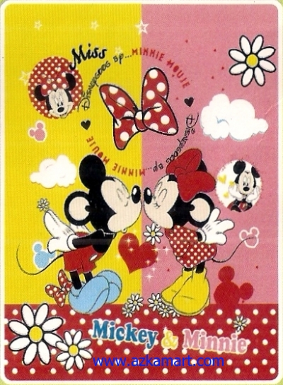 grosir murah Selimut Rosanna Sutera Mickey Minnie
