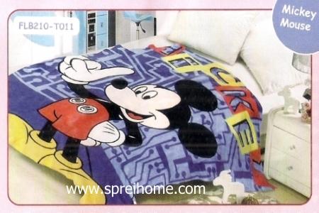 15 Selimut bayi lembut Blossom Mickey Mouse