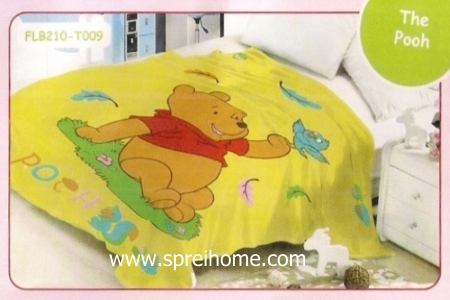 17 Selimut bayi lembut Blossom The Pooh