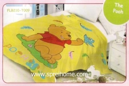 17 Selimut bayi lembut Blossom The Pooh