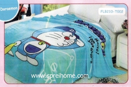 20 Selimut bayi lembut Blossom Doraemon