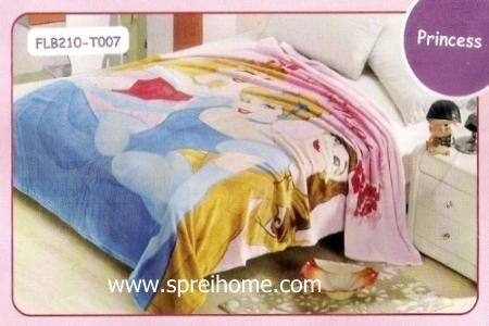 21 Selimut bayi lembut Blossom Princess