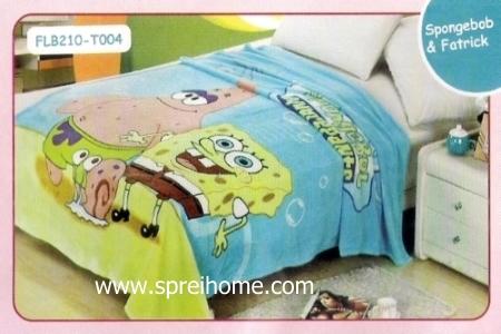 23 Selimut bayi lembut Blossom Spongebob Patrick