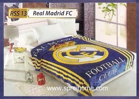 grosir murah Selimut Rossinni Real Madrid
