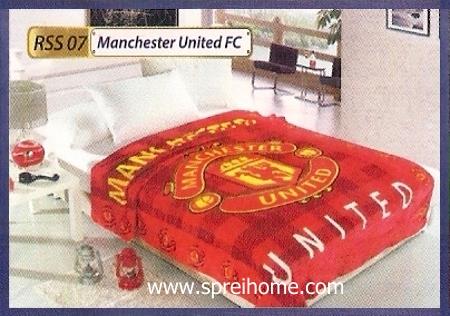 grosir murah Selimut Rossinni Manchester United