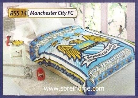 grosir murah Selimut Rossinni Manchester City