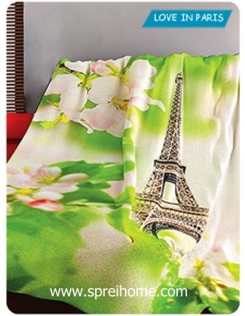 Jual grosir murah  Selimut Kintakun Love in Paris