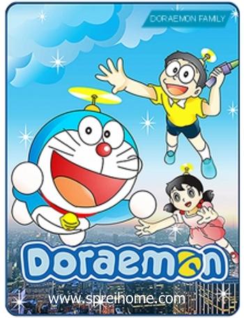 Jual grosir murah  Selimut Kintakun Doraemon Family