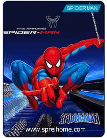 Jual grosir murah  Selimut Kintakun Spiderman