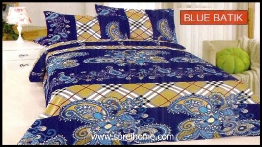 jual grosir Sprei Bonita Batik Blue