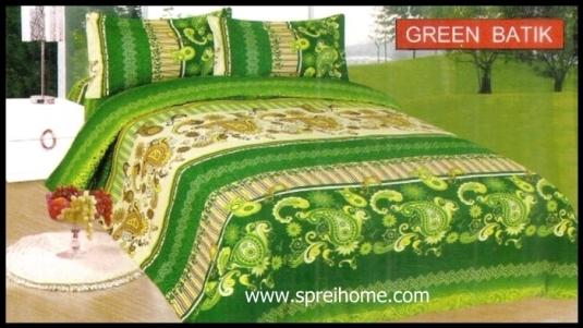 jual grosir Sprei Bonita Batik Green