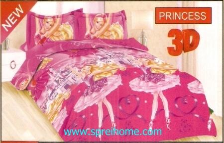 jual sprei bedcover Bonita 3D Princess