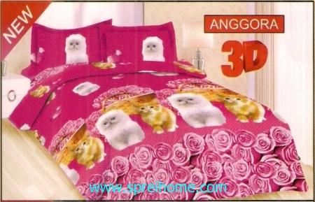 jual sprei bedcover Bonita 3D Anggora
